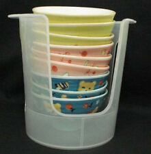 Japanese Rice Bowl Stacking Plastic Rack (holds bowls up to 4.5
