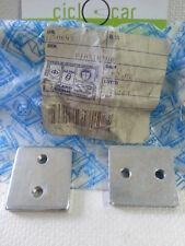 COPPIA PIASTRINA CERNIERA SPONDA LATERALE RIBALTABILE APE 703 DIESEL art.250643