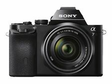 Sony Alpha A7 ILCE 7 KB 24.3MP FULL FRAME Compatto Sistema Fotocamera C/W 28-70 mm Lens