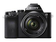 Sony Alpha 7 24.3MP Digital Camera - Black (Kit w/ FE 28-70mm OSS Lens)