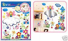 Angel Fairies Wall Decal Room Sticker Bedroom Girl Boy Nursery Room Home Decor