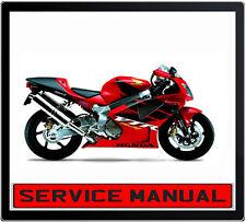 HONDA VTR1000F VTR 1000F BIKE REPAIR SERVICE MANUAL IN DVD