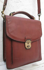 -AUTHENTIQUE    sacoche  TEXIER cuir  TBEG   bag vintage