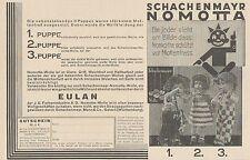 Y4618 Schachenmayr Nomotta - Pubblicità d'epoca - 1929 Old advertising
