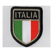 SCUDETTO TRICOLORE ITALIA TOPPA PATCH TERMOADESIVA 60x50mm