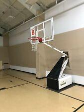 basketball goal portable used in good shape, adjustable