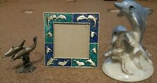 Dolphin Ornament And Frame