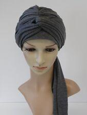 Chemo Turban, turban hat, volume chemo head wear, full head covering, head snood