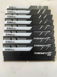 G.SKILL (1 x 32GB) TridentZ RGB Series DDR4 3600
