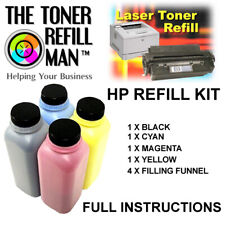 Toner Refill Kit For Use In HP Colour LaserJet Pro M154A,M154NW,M180, 204A, 205A