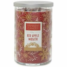 Yankee Candle Holiday Collection Tumbler Red Apple Wreath Two Wick Large 623g