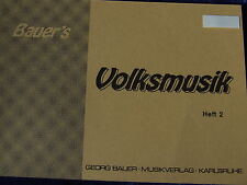 Bauer`s Volksmusik Heft 2, Posaune 3 in B  (Violinschlüssel)