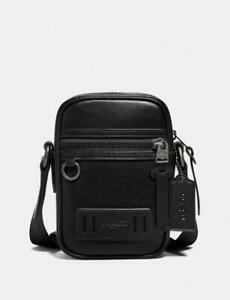 Coach Men's Terrain Crossbody Bag - 72963 - Black Leather NWT