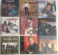 Lot # D of 32 COUNTRY Full CD's in Clear Sleeves with front artwork