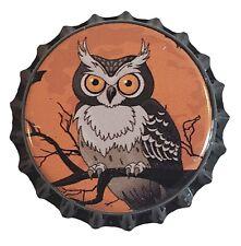 100 Owl Homebrew Beer Bottle Crown Caps Halloween Decoration Home Brew