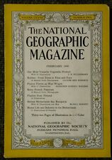 National Geographic magazine February 1940 Most Versatile Vegetable Product