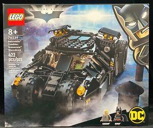 LEGO 76239 Batmobile Tumbler Scarecrow Showdown, The Dark Knight Trilogy Sealed!