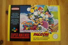 Pop'n TwinBee Super Nintendo Pal Fah Complet TBE