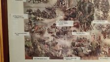 Ulster impressions  N Ireland British Army Print by Joan Wanklyn.  Iconic Print