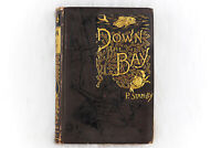 Vintage Collectible Down the Bay Wallace P. Stanley 1890 Belford Clarke Co Book