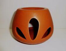 braune Duftlampe / Aromalampe Keramik Raumduft