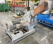 BAUER 75 Hp 3 Phase Swinging Hammer Mill Pulverizer Crusher W/ Blower  #2302SR