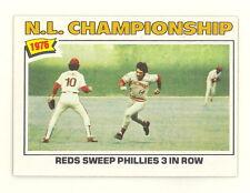 1977 TOPPS BASEBALL PETE ROSE NLCS CARD #277 NO CREASES SHARP EXMT-NM+ (494)