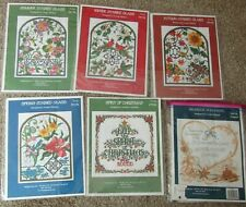 Lot of 5 Imaginating Counted Cross Stitch Charts 2812K-2815K 2795K & 1 Started