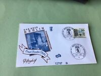 The New Berlin Ernst Reuter Tower  1966 First Day stamps cover Ref 52254