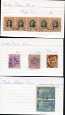 COSTA RICA (22779): town and village postmark/cancels