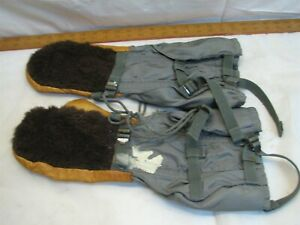 Pr Air Crew Force Gloves Mittens type N-4B AAF Cold Weather with Insert