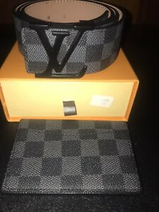 Louis Belt and Wallet Fits Size 34-38 New W/ Box