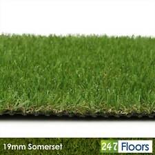 More details for 19mm artificial grass green fake grass cheap lawn astro turf green garden 2m 4m
