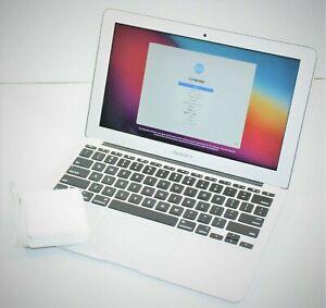"Apple MacBook Air 11"" iMessage, FaceTime, YouTube & Netflix ready 128GB SSD 2015"