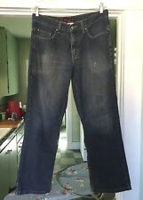 Sexy Mens Anchor Blue Loose Blue Denim Jeans Pants Tag 32/32 - 34 x 31