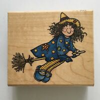 New Penny Black BEWITCHED Clear Stamps Halloween Hedgy Pumkin Cat Mice Broom