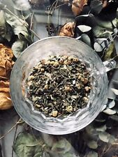 "Organic Magical Mugwort ""Protection"" Loose Handcreated Recipe Tea. AO Tea Bar"