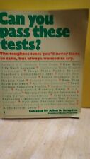 ALLEN D. BRAGDON - Can You Pass These Tests?  (B-71V)
