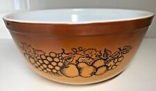 Vintage PYREX OLD ORCHARD 403 2 1/2 Qt Mixing Bowl