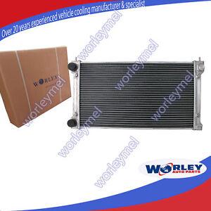 For VOLKSWAGEN VW GOLF RADIATOR MK1/2 GTI/SCIROCCO 1.6 1.8 8V MT 2 ROW ALUMINUM