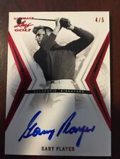 2012 Leaf Ultimate Golf Gary Player Auto Red 4/5