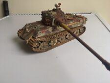 1/35 construido pintado y resistido Tigre Rey? qué pasa si el 1945 de julio