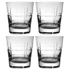 Villeroy & and Boch ARDMORE CLUB 4 x boxed old fashioned whisky tumblers NEW