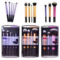 Makeup Brushes Starter Kit Cosmetic Powder Blush Foundation Real Techniques Set