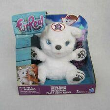 Hasbro FurReal Snifflin Sawyer Interactive Plush Fur Real Pet White Polar Bear