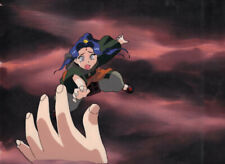 El Hazard Anime Cel of Alielle with Background 1990's Animation Production