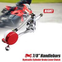 "7/8"" Universal Motorcycle Handlebar Hydraulic Brake Master Cylinder Clutch Right"