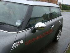 07 + Mini Cooper / S / Uno R56 Cromato Specchietto Laterale CAP copre per il potere SPECCHIO PIEGHEVOLE