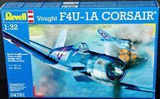 Revell Germany USN Vought F4U-1A Corsair Fighter model kit 1/32