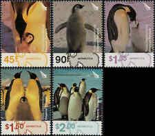 2004 ROSS DEPENDENCY Emperor Penguins (5) MNH